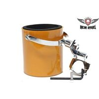 Motorcycle Atv Handlebar Mount Cup Holder - Orange Motorcycle Cup Holder
