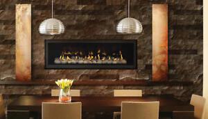 Napoleon LHD50 Linear Gas Fireplace | eBay