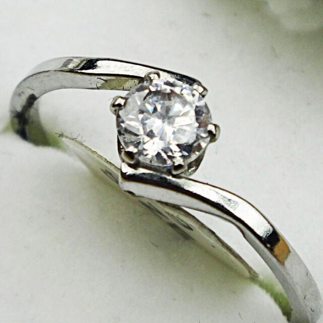 10pcs 100% Pure Zircon top stainless steel rings high quality wholesale jewelry