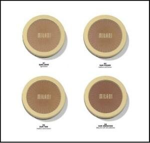 Milani Silky Matte Bronzing Powder ~ 01 Sun Light, 02 Sunkissed Or 03 Sun Tan by Milani