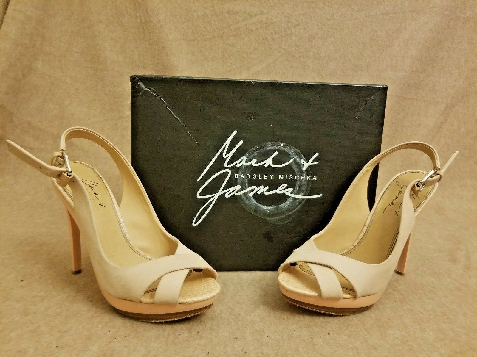 preferenziale Mark Mark Mark & James by Badgley Mischka donna Maybel rosa Slingback Sandals Dimensione 6 M  outlet online economico