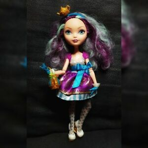 DéLicieux Ever After High Madeline Hatter Poupée, Amazing Condition, Différente Hat-afficher Le Titre D'origine
