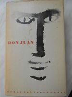 """""""Don Juan"""" Roman v. Josef Toman / Spanien im 17.Jhd /Teufel v. Sevilla/Drama"""