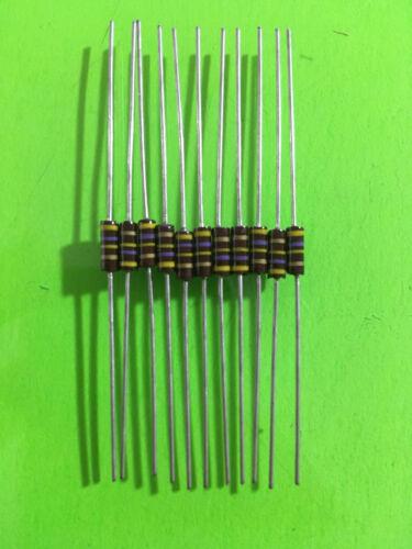 1//4W TRW Carbon Composition Resistors Multiple Values Available 10 Pc 20 Pc