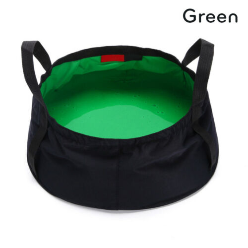 Portable 8.5L Collapsible Wash Camping Folding Basin Bucket Camping Cookware
