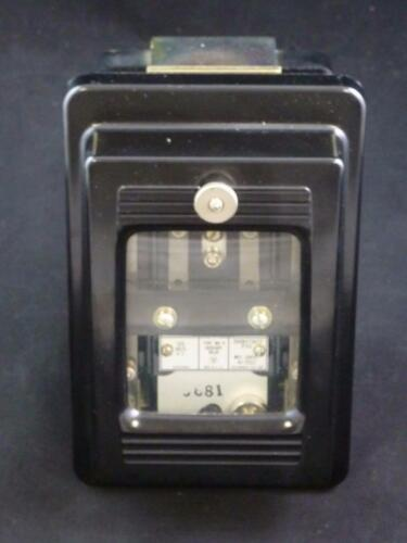 WESTINGHOUSE 289B473A22 Type MG-6 Auxiliary Relay 125 Volts D.C.