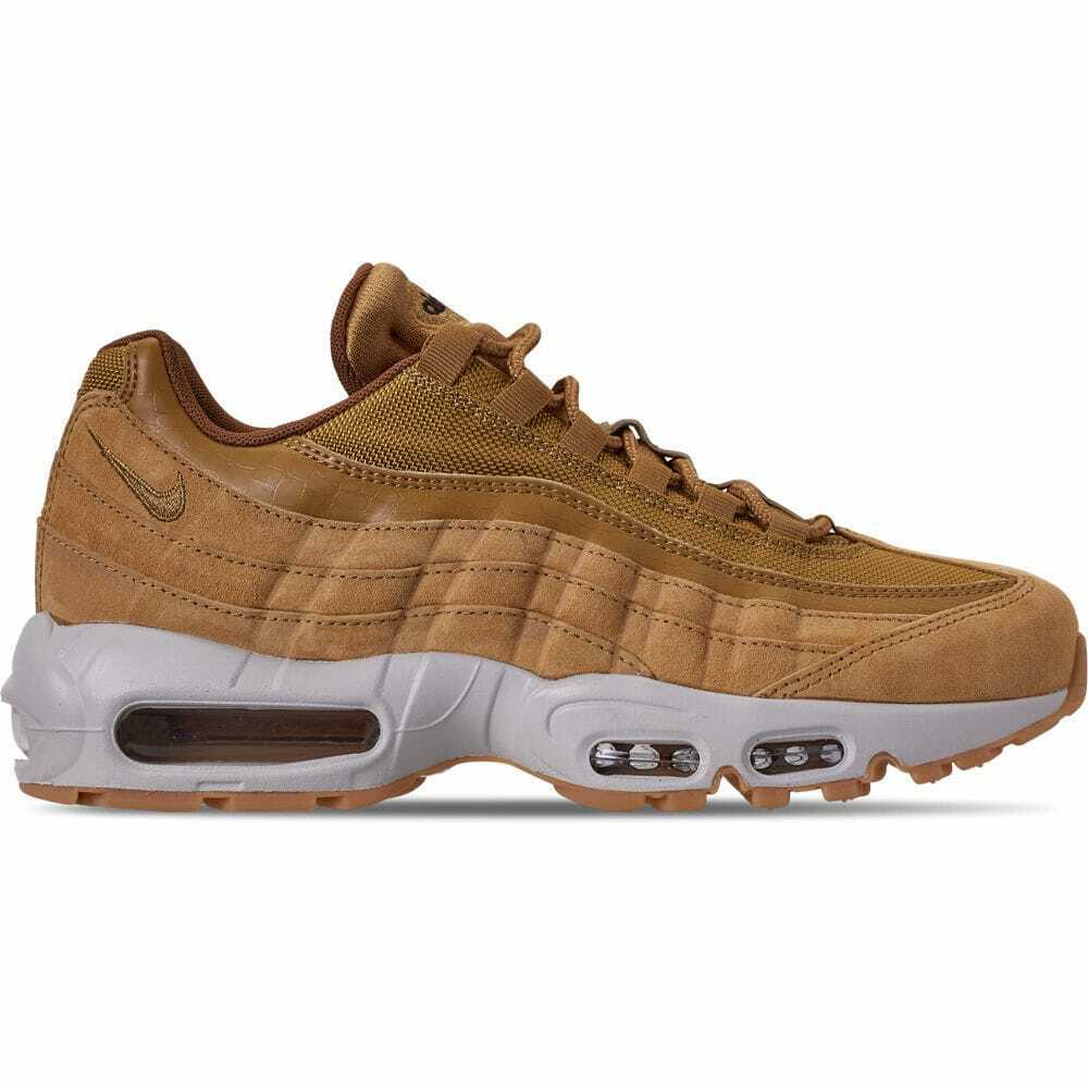 Men's Nike Air Max 95 SE Casual shoes Wheat Light Bone Black AJ2018 700