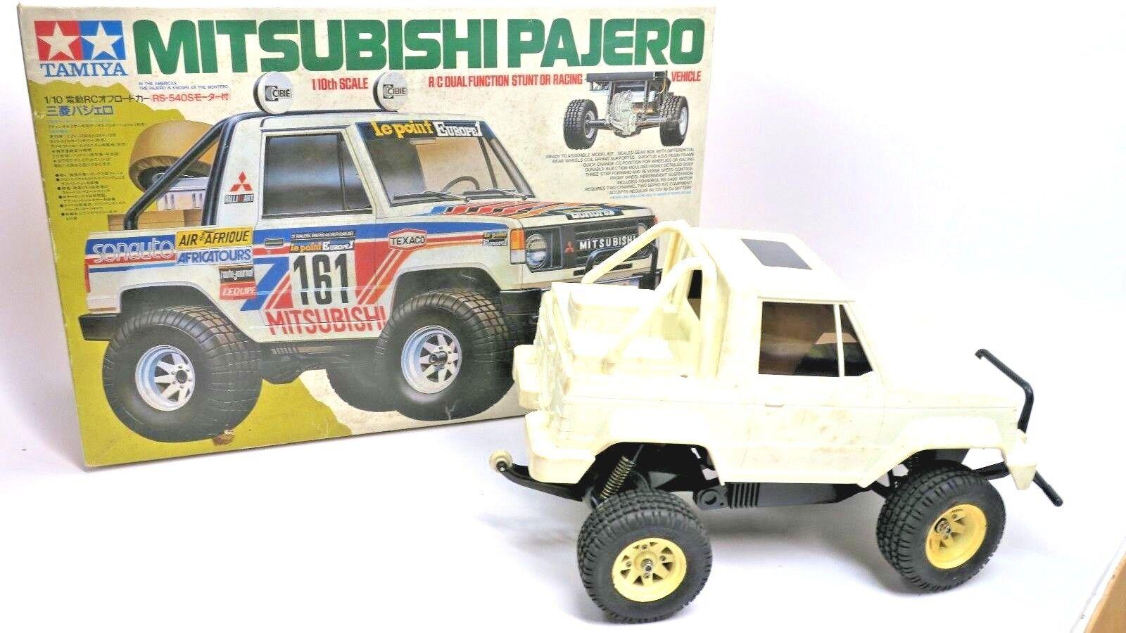 Vintage Tamiya Mitsubishi Pajero R/C R/C R/C NEW BUILD1980's Tmaiya Wild Willy 5844 8f714d