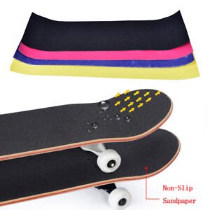 Waterproof-sandpaper-skateboard-deck-grip-tape-griptape-skating-board-4colorT-RU