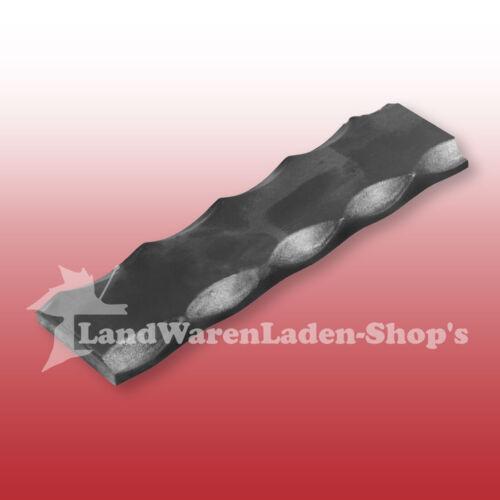 Länge 90-98 cm RESTSTÜCK Flachstahl kantengehämmert Untergurt 30 x 6 mm