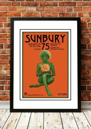 SUNBURY FESTIVALAustralian Rock Band Concert Tour Posters4 to choose from.