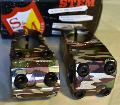 686bab6fe4d91 S&M Stem in Camo Wrap Turtleneck or Shredneck for BMX Park Street Bike
