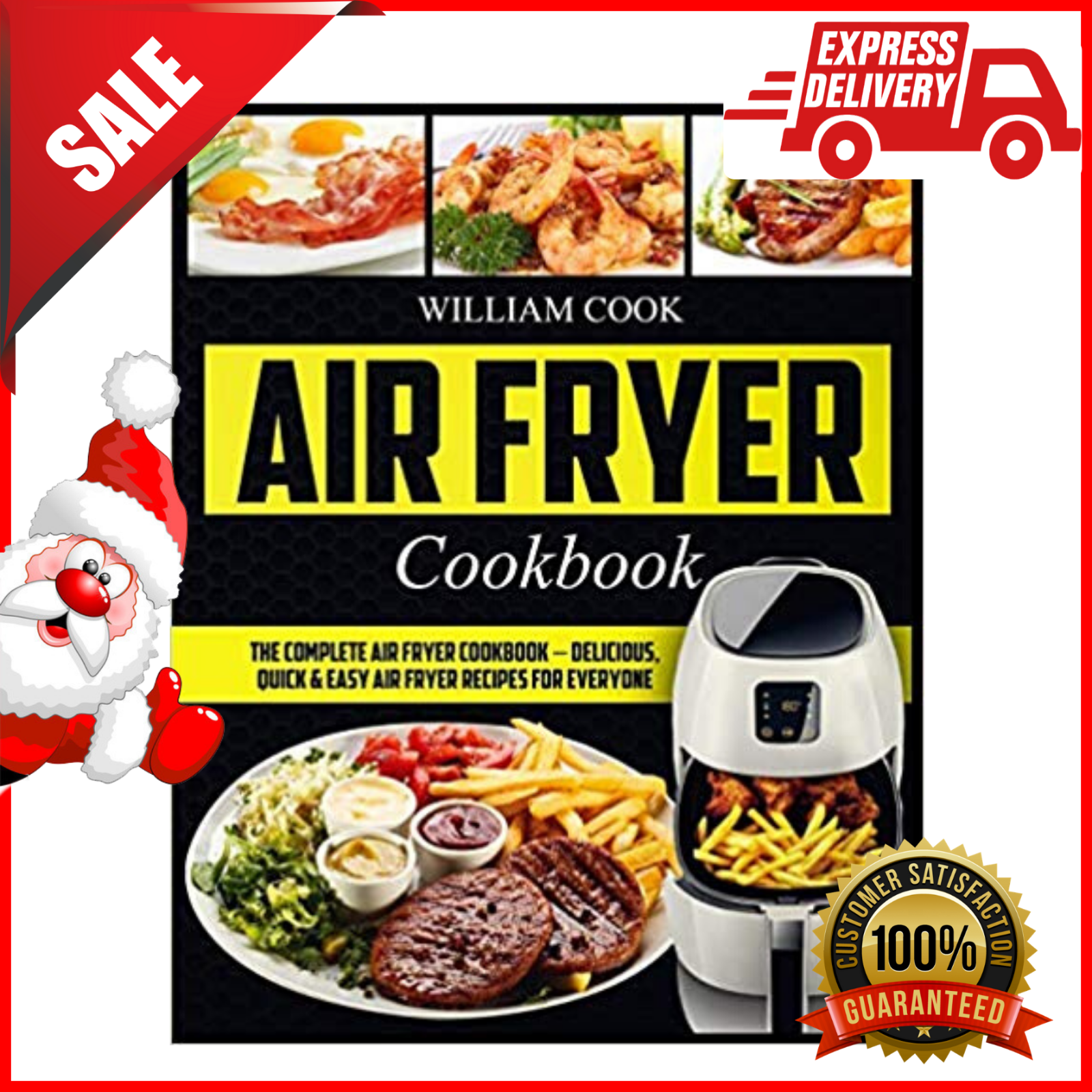 The Complete Air Fryer Cookbook Beginners Easy Quick Healthy Recipes Paperback 4