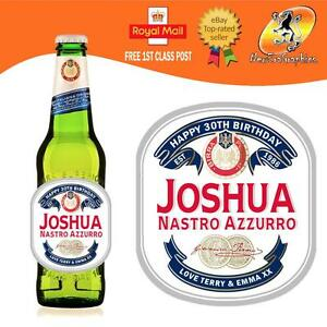 PERSONALISED-ITALIAN-BEER-LAGER-BOTTLE-LABEL-BIRTHDAY-ALL-OCCASIONS-GIFT