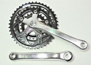 Torq Alloy Triple 42//34//24T Crankset Square JIS 170mm Silver MTB Mountain Bikes