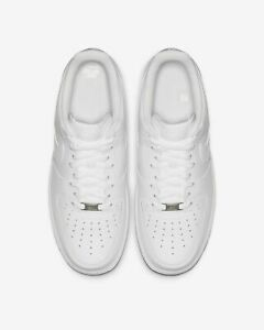 Details about Nike Air Force 1 07 LE Low All Triple White 315122-111 Men's  AF1 Uptown women's