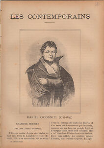 Daniel O'Connell Ireland JOURNAL COMPLET 16 PAGES 1893 - France - EBay Daniel O'Connell (Irish: Dónall Ó Conaill; 6 August 1775 15 May 1847), often referred to as The Liberator or The Emancipator, was an Irish political leader in the first half of the 19th century. He campaigned for Catholic emancipationinclu - France