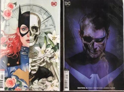 Batgirl #24 Joshua Middleton Cover B /& Nightwing 46 Cover B Ben Oliver NM