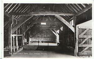 Buckinghamshire-Postcard-The-Mayflower-Barn-Old-Jordons-Hostel-RP-A7218