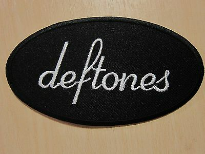 Deftones Logo embroidered Iron on Patch High Quality Shirt