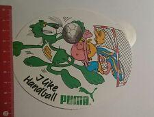 Aufkleber/Sticker: i like Handball Puma (11111699)