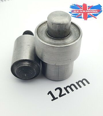St15 Hand press plus eyelet setting tool and puncher and grommet 8 10 12 17 mm
