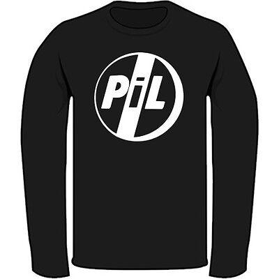 New Public Image Ltd PiL Post Punk Rock Band Men/'s Black T-Shirt Size S to 3XL