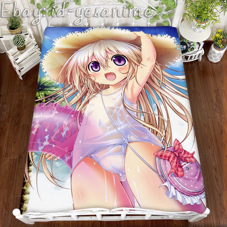 79  NEW Anime Gothic Delusion Blanket HD JP otaku Unisex Loli Sexy Bed Sheet  z1