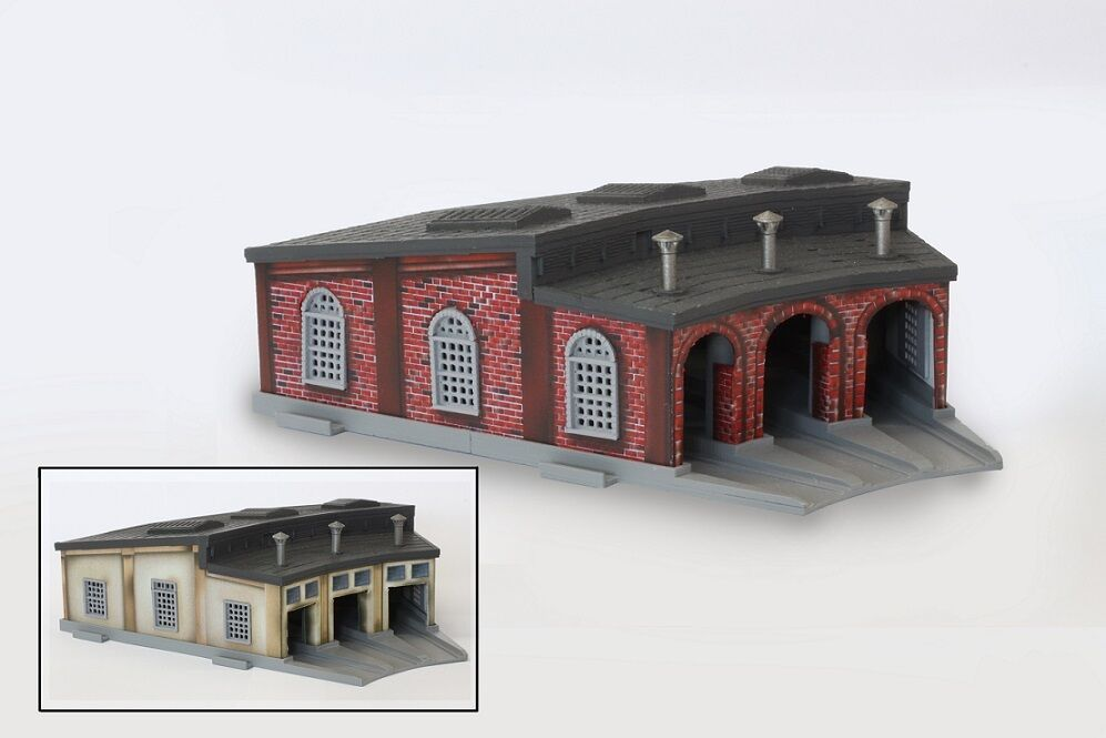 Rokuhan S038 Hangar / Roundhouse - Z