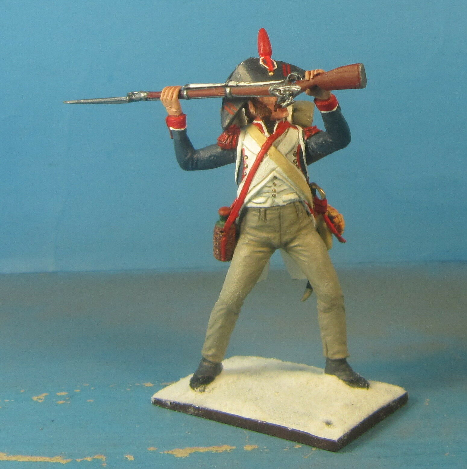 Napoleonic Wars — French different troops — — — 60mm High quality Lead Figure 845a80