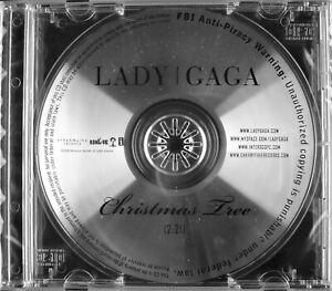 """LADY GAGA """"CHRISTMAS TREE"""" 2008 DJ PROMO CD SINGLE ~VERY ..."""