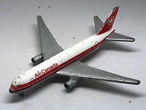 Majorette-Diecast-modelo-Boeing-767-Air-Canada-Jet-pasajero-avion-comercial