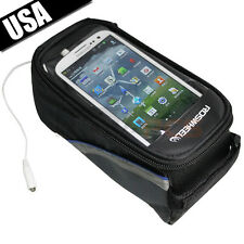 NEW Waterproof Cycling Bike Bicycle Frame Pannier Front Tube Bag for Cell Phones