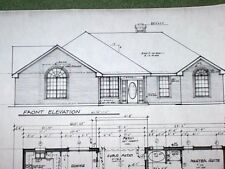 Custom Home Plan 1505 A/C Sq. Ft. 3 Bed 2 Bath 2 Car Garage One Story 2194 Tot