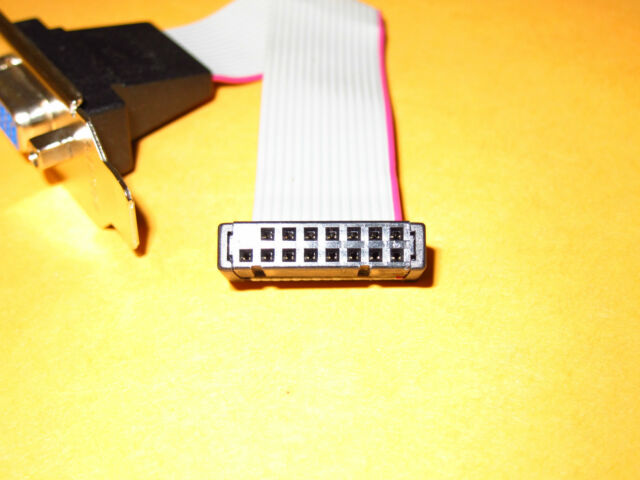 XFX Full Height Size Length Bracket with VGA CRT DSUB Extension Cable