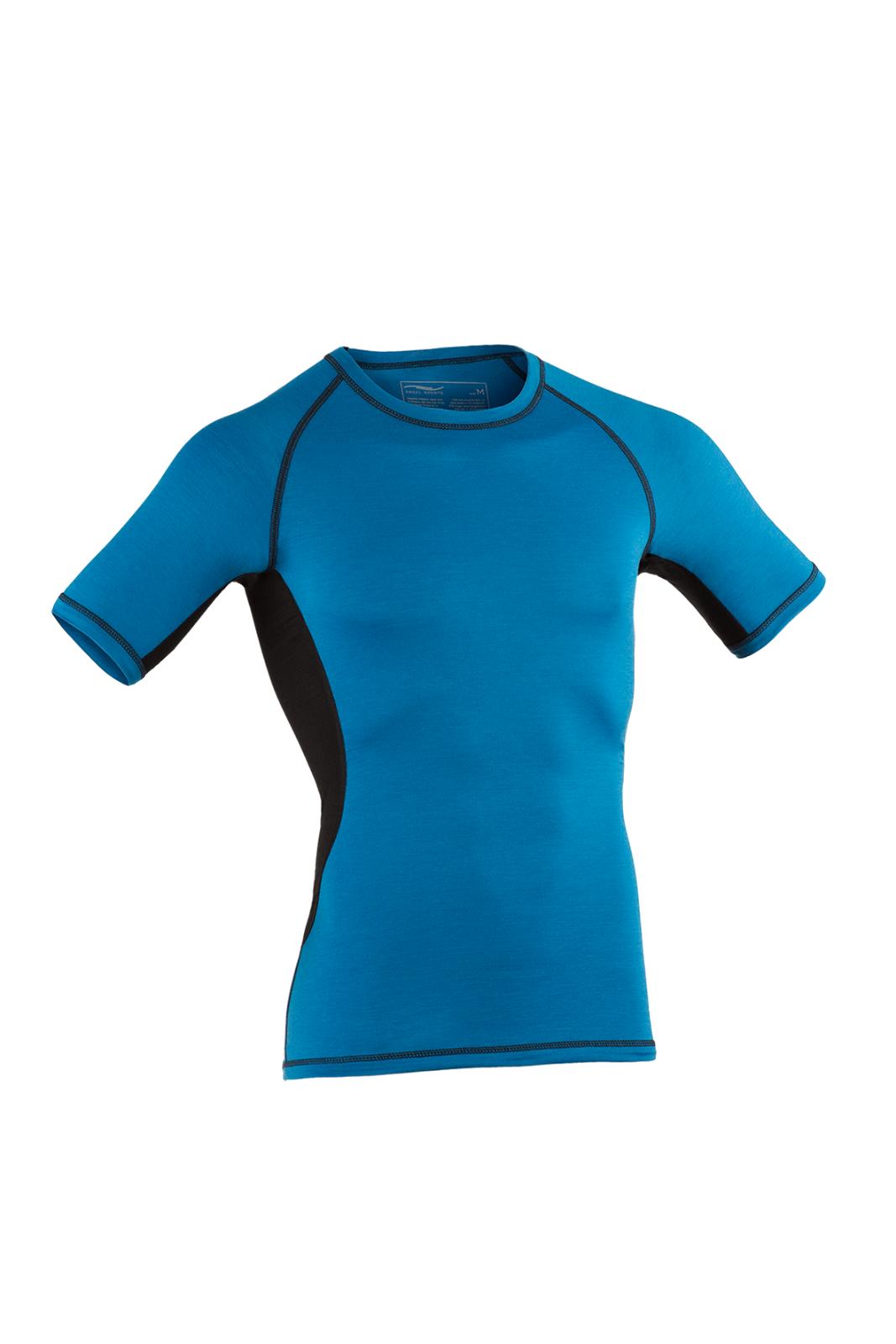 Engel Sports Herren Shirt blau ESM150202120 Funktionskleidung GOTS zertifiziert