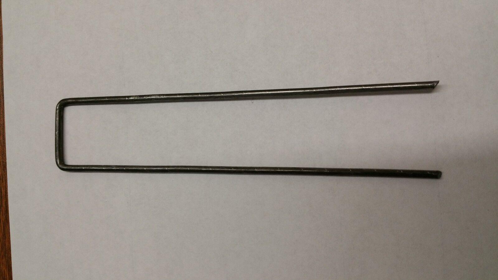 1000 pcs Sod Staples Anchor Pins  Landscape Fabric Drip Tubing 6 x1  11 Gauge