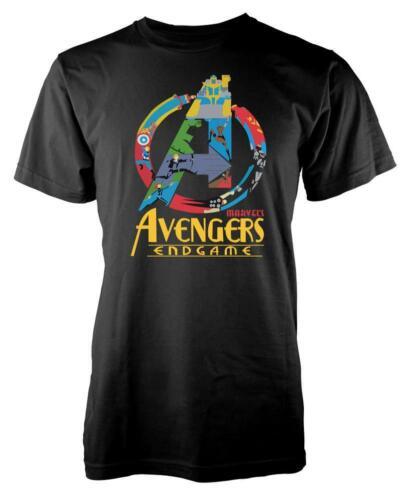 Un logo Merveilleux Jeu fin Avenger Super Héros Enfants T Shirt