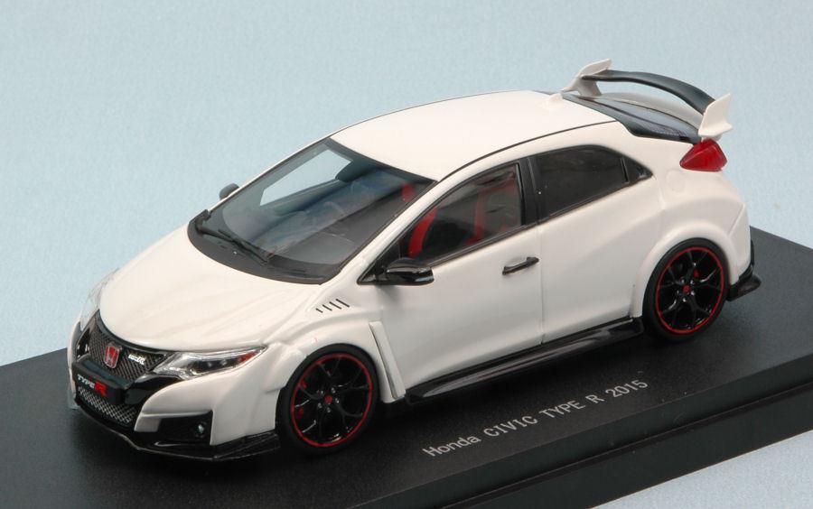 Honda civic type r 2015 weiße 1 43 modell 45352 ebbro