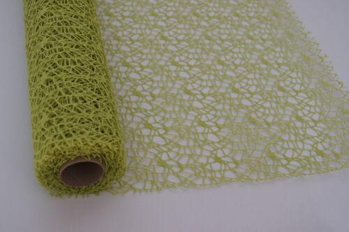 50cm x 5m Tischläufer Tischband Polyester  Dekostoff Tischdekoration Deko RL2