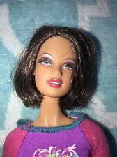 Barbie Model Muse Short Brown Hair Green Eyes Beautiful Doll outfit