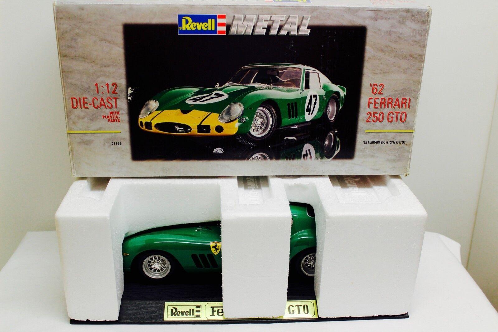 Revell Ferrari 250 GTO 1 12  47 David Piper 1963 Nürburgring neuwertig in OVP  | Wunderbar