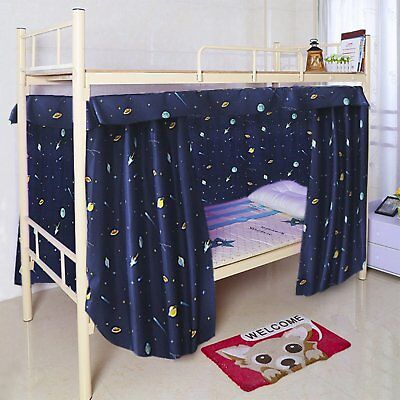 New Cabin Bunk Bed Tent Curtain Cloth Dormitory Mid Sleeper Canopy Spread Kids Ebay