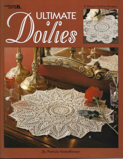 Ultimate Doilies Patricia Kristoffersen Crochet Doily Pattern Book