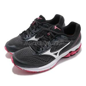 Mizuno-Wave-Rider-22-Black-White-Pink-Women-Running-Shoes-Sneakers-J1GD1831-71