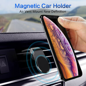 NEW-Magnetic-Phone-Holder-Car-Air-Outlet-Metal-Magnet-Stand-Bracket-Smartphone