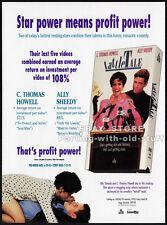 TATTLE TALE — Original 1993 Trade AD movie promo — ALLY SHEEDY__C THOMAS HOWELL