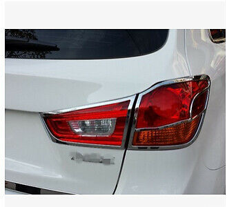 Rear Tail Light Lamp Cover Trim for Mitsubishi ASX RVR Outlander Sport 2010-2017