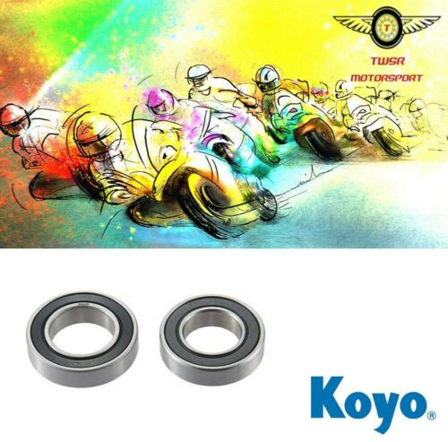 Genuine Koyo Kawasaki ZX6R G1-G2//J1-J2 Front Wheel Bearings 1998-2001