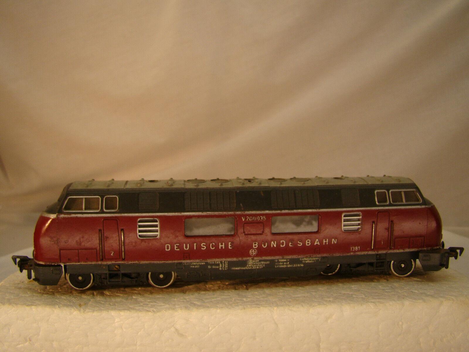Legendary TEE Diesel Engine - trans European Express - smooth, powerful runner